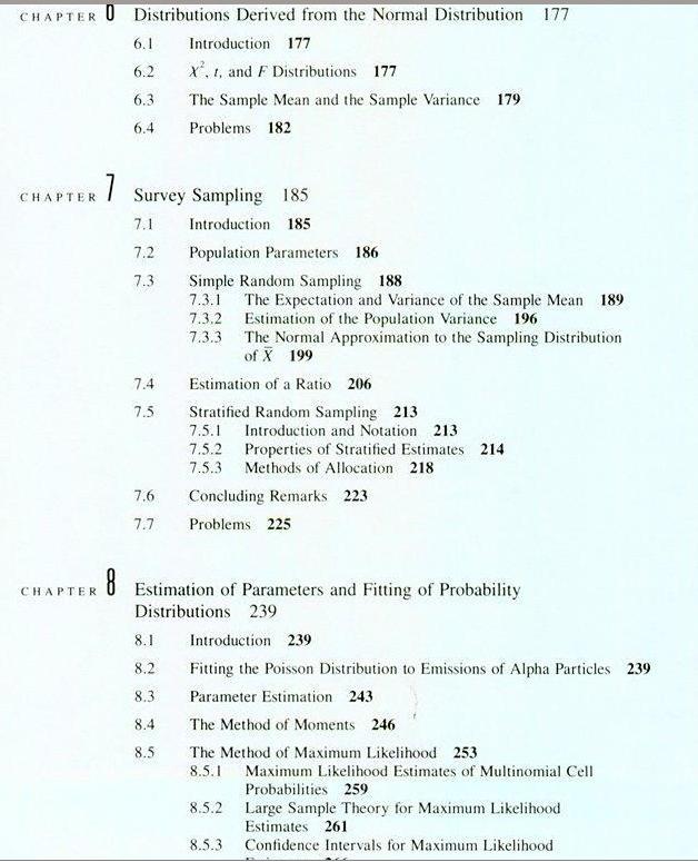 Math 502 Probability and Statistics