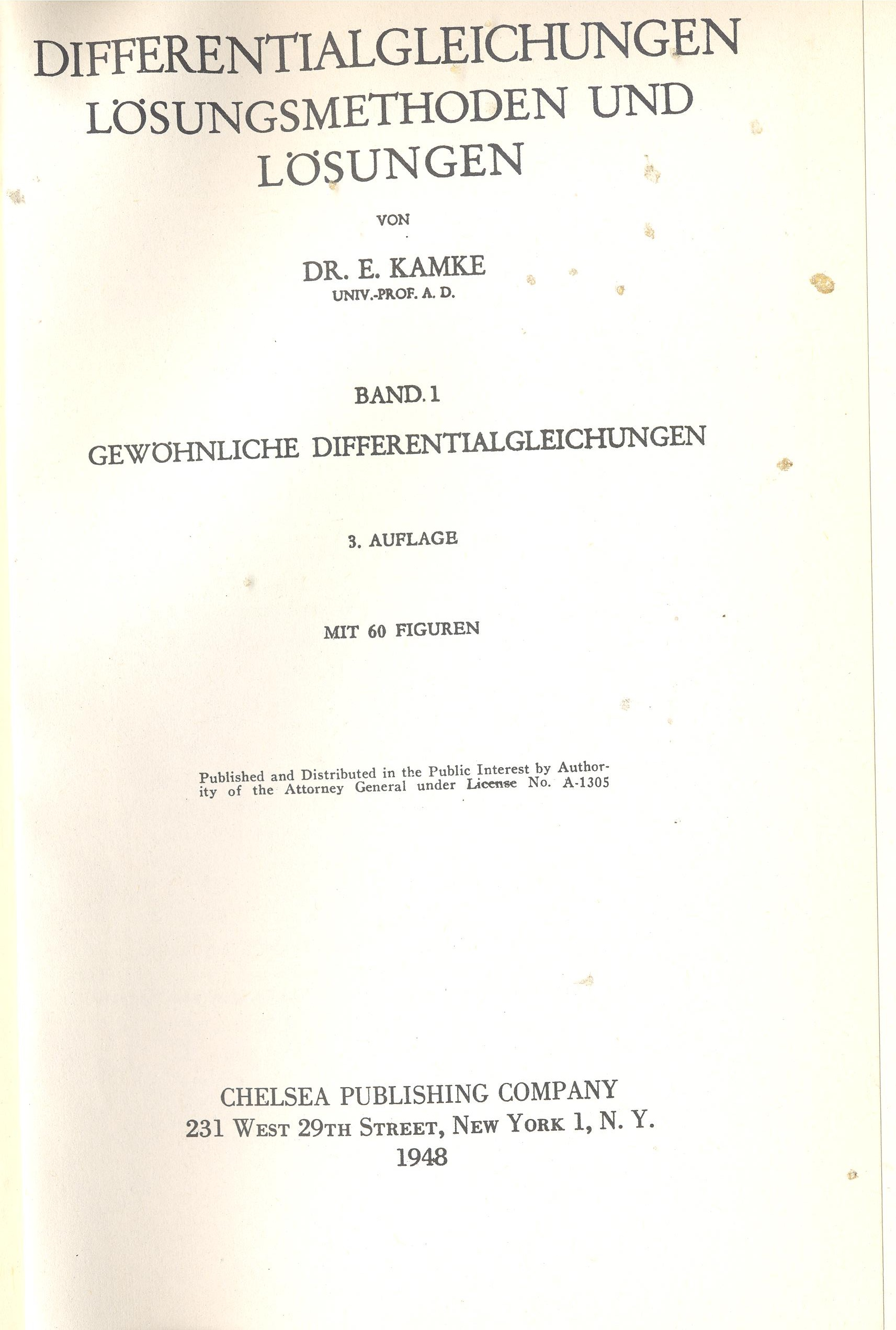 Kamke differential equations solved in maple and mathematica